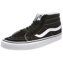 Vans Unisex-Erwachsene Sk8-Mid Reissue Hohe Sneaker, Schwarz (Black/True White 6bt), 38 EU