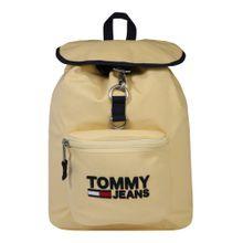 Tommy Jeans Rucksack 'TJW Heritage' hellgelb / schwarz