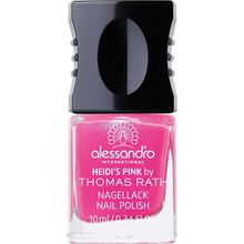Alessandro Make-up Nagellack Thomas Rath Nail Polish Nr. 596 Victoria's Brown 10 ml