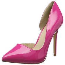 Pleaser Damen Amuse 22 Pumps, Pink (H Pink Pat), 46 EU(13 UK)