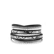 LASCANA Armband schwarz / silber