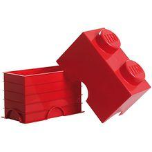 LEGO Aufbewahrungsdose Storage Brick 2er rot