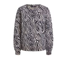 Sweater mit Zebra-Print