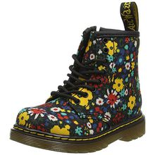 Dr. Martens Unisex-Kinder Brooklee WF Klassische Stiefel, Mehrfarbig (Wanderflora 700), 24 EU