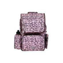 TICKET TO HEAVEN Rucksack Girl Classic mit Turnbeutel, Vesperbox und Trinkflasche lila