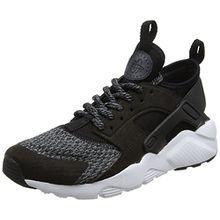 Nike Unisex-Kinder Air Huarache Run Ultra SE (GS) Sneaker, Schwarz (Black/Black-Anthracite-Cool Grey), 38.5 EU