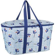 reisenthel Einkaufstasche coolerbag Leaves Blue (20 Liter)