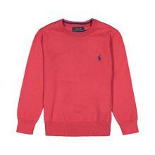 Polo Ralph Lauren Jungen-Pullover - Rot (2T, 3T, 4T, 5, 6, 7, L, M, S, XL)