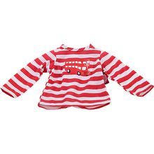 Puppenkleidung T-Shirt, London bus 30-33 cm