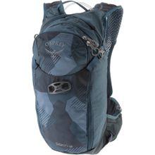 Osprey Fahrradrucksack 'Siskin 12' himmelblau / schwarz