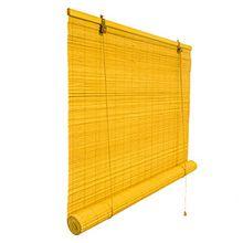 Bambusrollo 140 x 160 cm in bambus - Fenster Sichtschutz Rollos - VICTORIA M