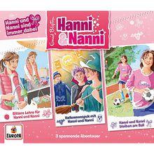 CD Hanni und Nanni - Box 18 - sind immer dabei (Folgen 59-61, 3 CDs) Hörbuch