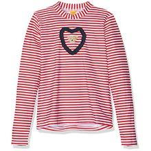 Steiff Baby-Mädchen Schwimmshirt Sonnenschutzshirt 1/2 Arm 6717503 Rot (Tango Red 2016), 9-12 Monate (Herstellergröße: 80)