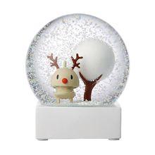 Snow Globe Rudolf Schneekugel