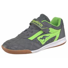 KangaROOS Sneaker 'Power Comb EV' grau / limette
