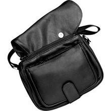 Hans Kniebes HK-Style Handtaschen & Rucksäcke Business-Umhängetasche, Amalfi-Vollrindleder, 255 x 200 x 115 mm schwarz 1 Stk.