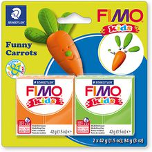 FIMO kids Funny Carrots
