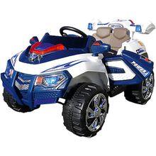 Elektroauto Jeep 8188 ZHE/FTF 2 x 35 Watt Motor, blau/weiß
