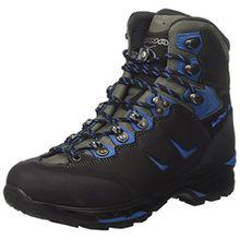Lowa Herren Camino GTX Men Trekking-& Wanderstiefel, Schwarz (Schwarz/Blue 9940), 47 EU