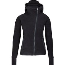 Bench Damen Sweatshirt Fleecejacke Ninja Hood Body Mould schwarz (black) X-Small