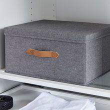 Ordnungsbox Canvas Premium mit Deckel