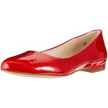 Caprice Damen Geschlossene Ballerinas, Rot (Red Patent 505), 38 EU