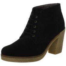 ESPRIT Mariella Lu Bootie I10400, Damen Fashion Halbstiefel & Stiefeletten, Schwarz (black 001), EU 39