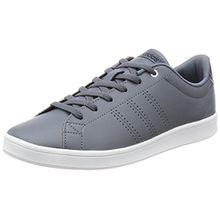 adidas Damen Advantage Clean QT W Sneaker Low Hals, Grau (Onix/Onix/Msilve), 40 2/3 EU