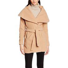 LTB Jeans Damen Mantel Nocigo Coat, Braun (Camel 703), 36 (Herstellergröße: S)
