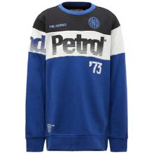Petrol Industries Sweater blau / schwarz / weiß