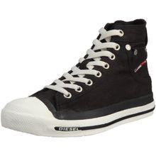Diesel MAGNETE EXPOSURE W - sneaker, Damen Hohe Sneakers - Schwarz (H0144), 36 EU (3.5 Damen UK)