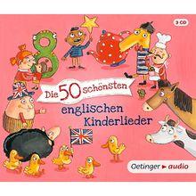 CD Die 50 schönsten englischen Kinderlieder (3 CDs) Hörbuch