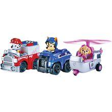 PAW Patrol - Rettungsflitzer, 3 Fahrzeuge