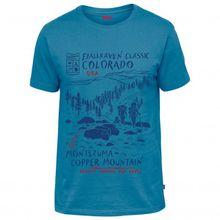 Fjällräven - Classic US T-Shirt - T-Shirt Gr L;M;S;XL;XXL blau;oliv