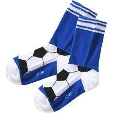 Socken , Fußball blau Jungen Kleinkinder
