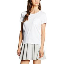 Levi's Damen T-Shirt The Perfect Pocket Tee, Weiß (White Cn-100xx 37), X-Large