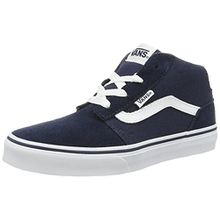 Vans Unisex-Kinder Chapman Mid Sneaker, Blau (Suede/Canvas), 38 EU