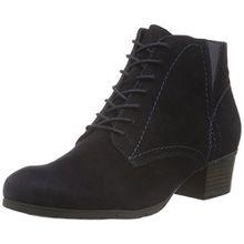 Jana Damen 25100 Chelsea Boots, Blau (Navy Suede 806), 37.5 EU