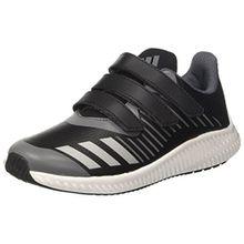 adidas FortaRun CF K, Unisex-Kinder Sneakers,Grau (Cblack/Silvmt/Onix), 35 EU