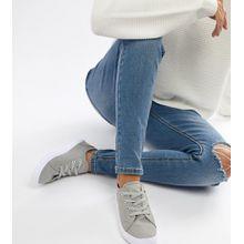 ASOS DESIGN – Daisy – Sneaker-Grau