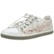 Desigual Damen Supper Happy Lace Sneakers, Weiß (White 1000), 37 EU