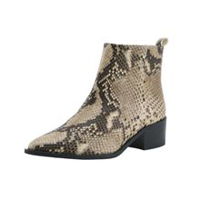 Heine Stiefelette in Snake-Optik