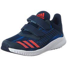 adidas FortaRun CF K, Unisex-Kinder Sneakers,Blau (Conavy/Corred/Ftwwht), 38 EU