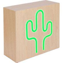 """Bluetooth-Lautsprecher mit Induktion """"Cactus"""" grün"""