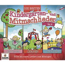 CD Die besten Kindergarten- und Mitmachlieder Hörbuch