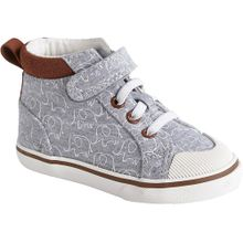 VERTBAUDET Sneakers High grau