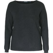 BLUE SEVEN Pullover schwarz Damen