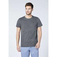CHIEMSEE T-Shirt aus GOTS-zertifizierter Bio-Baumwolle schwarz Herren
