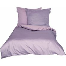 Schöner Wohnen Bettwäsche-Set, 100 Prozent CO, Rose-Schlamm, 200 x 200 cm