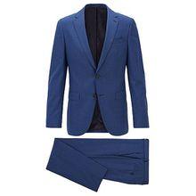 Slim-Fit Anzug aus nachverfolgbarer Schurwolle